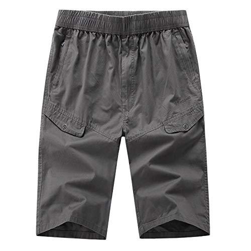 Pantalones De Hombre Moda Casual para Hombres Color Puro ...