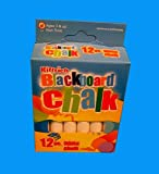 kittrich Blackboard Chalk 12Pcs White, Case of 144