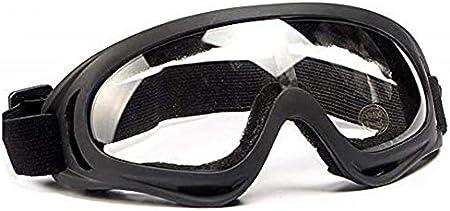 LUFF Gafas protectoras, Gafas industriales, antiniebla, resistencia al rayado, Gafas protectoras contra salpicaduras de sustancias químicas