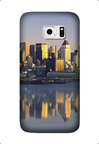 Samsung Galaxy S6 Edge Case -High Clear City Pattern TPU Bumper Rubber Skin Flexible Slim Soft Case for Samsung Galaxy S6 Edge Design By [Laura Jordan]
