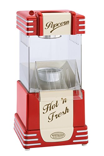 082677136251 - Nostalgia RHP625 Retro Series 12-Cup Hot Air Popcorn Maker carousel main 0