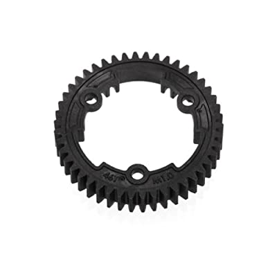 Traxxas 6447 46-T Spur Gear, 1.0 Metric Pitch: Toys & Games