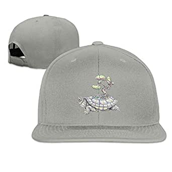 Plain Logo Baseball Cap Polo Safari Dad Hat Imagine Time Turtle ...