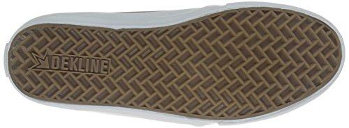 Bianco Scarpe 602 Dekline Peltro 625 Unisex Adulti Skateboard FwPFxq160