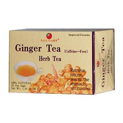 (HEALTH KING MEDICINAL TEAS TEA,GINGER, 20 BAG)