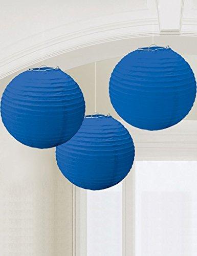 Royal Blue Paper Lanterns