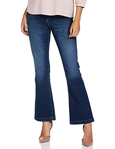 Mode By Red Tape Women's Boot Cut FIT Relaxed Jeans
