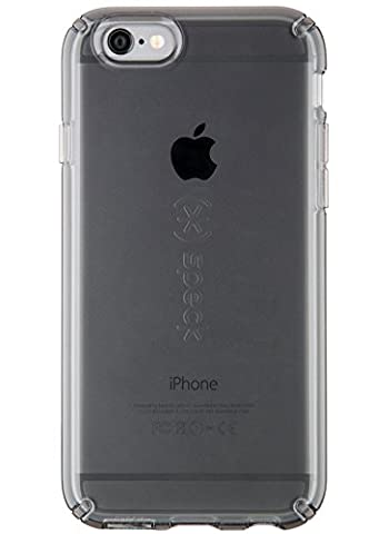 Speck Products CandyShell Cell Phone Case for iPhone 6 PLUS/iPhone 6S PLUS, Onyx Clear, 73685-5446 (Iphone 6 Speck Clear Case)
