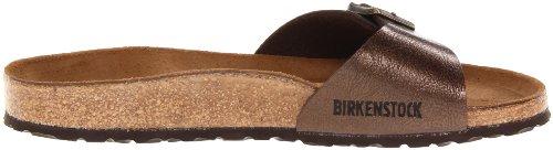 BirkenstockMadrid Birko-Flor - Mules Mujer - marrón (Graceful Toffee)