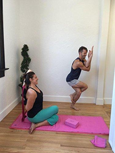 Yoga Set Kit 7-Piece 1 Mat Blocks, Yoga Hand Towel, Carry Gift for Yogis and Seniors