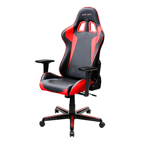 41Q L0y ypL - DXRacer FH00/NR Racing Bucket Seat Office Chair Gaming Ergonomic with Lumbar Support