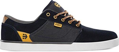 Etnies Skateboard Shoes Jefferson Navy/Yellow Etnies Shoes