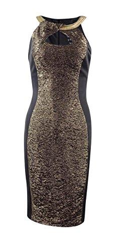jax gold dress - 8