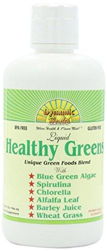 Dynamic Health Healthy Greens Liquid 32 Fz by Dynamic Health