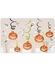 Amscan International 670460 pompoenen en geesten swirls hangende decoratieve verpakking