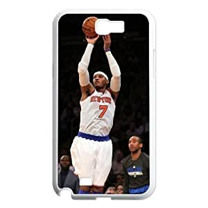 Custom High Quality WUCHAOGUI Phone case Carmelo anthony - New York Nicks Protective Case For Samsung Galaxy Note 2 Case - Case-10