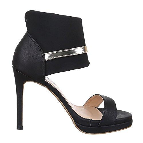 Ital-Design - Sandalias / Sandalias Mujer negro