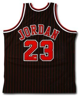 13570fbc68c Image Unavailable. Image not available for. Color  Michael Jordan Signed  Jersey - 2009 HOF UDA LE 50 123 - Autographed NBA Jerseys