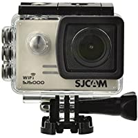 WiFi TFT 14MP 1080P 60FPS Full HD CMOS Action Sport Camera - Silver + Black