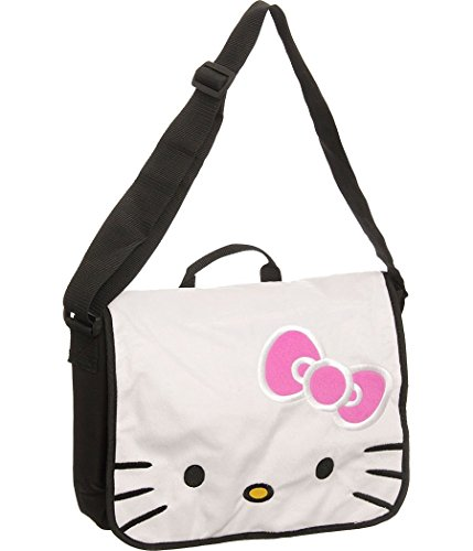 Hello Kitty Plush Face Messenger Bag