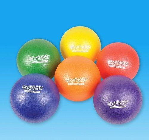 8'' SPORTSOFT PLAYGROUND BALLS, Case of 10