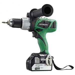 Hitachi DV18DBL - Taladro atornillador 18 V 4 Ah DS18DBL TW