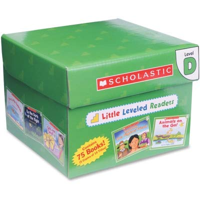 SHS0545067677 - Scholastic Little Leveled Readers: Level D Box Set Story Printed Book