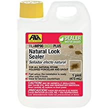 FILA Surface Care Solutions 44050712 Fila MP90 Eco Plus 1 Pint Tile&Stone Sealer Natural Look Penetrating Countertops Water Based