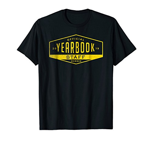 Official Yearbook Staff Member Vintage Look Shirt