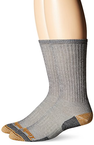 Timberland Men's Merino Wool Blend Crew,Black,Sock Size:11- 13/Shoe Size:9-12