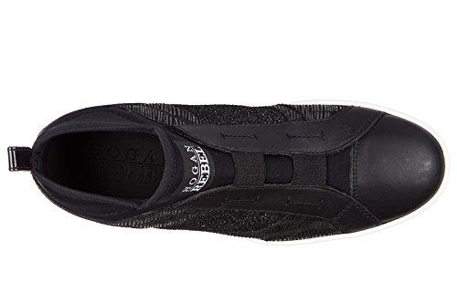 Zapatos elasti Zapatillas Mujer Mid de Deporte largas Hogan Rebel r182 Cut UvqxFE5
