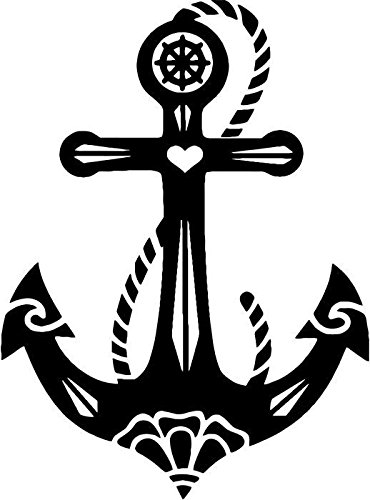 Anchor Vinyl Decal Sticker Bumper Car Truck Window- 20