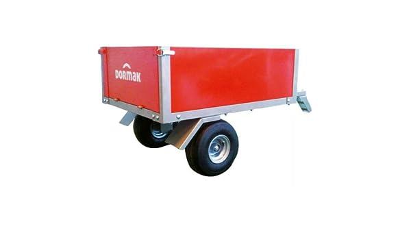 Remolque Dormak para motocultor, carga: 225 kg.: Amazon.es: Jardín