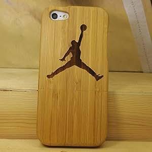 Euroge Tech 100% Natural Bamboo Case for iPhone 5 Jordan