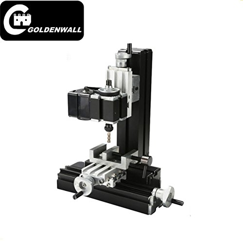 Z20005M Metal Mini Milling Machine 24W 20000rpm mini DIY metal vertical mill machine for students DIY Works by CGOLDENWALL (Image #1)