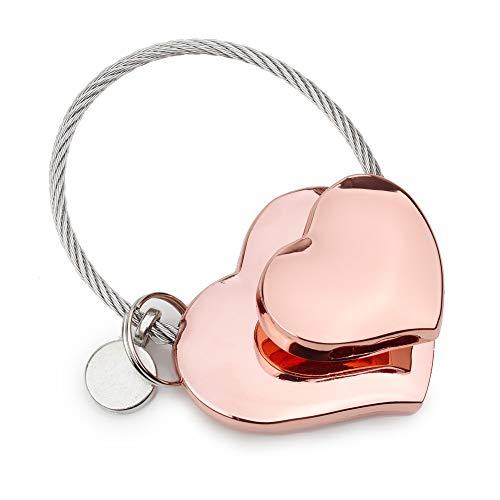 Keychain Heart Personalized (Heart to Heart Keychains, Whale Keychains, Personalized Keyring, Cool Keychains, Men Women Girls Cute Gifts)