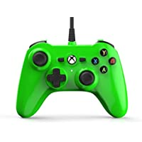 Mini Wired Controller - Microsoft Officially Licensed for Xbox One / Xbox One S / Xbox One X  ( Electric Green )