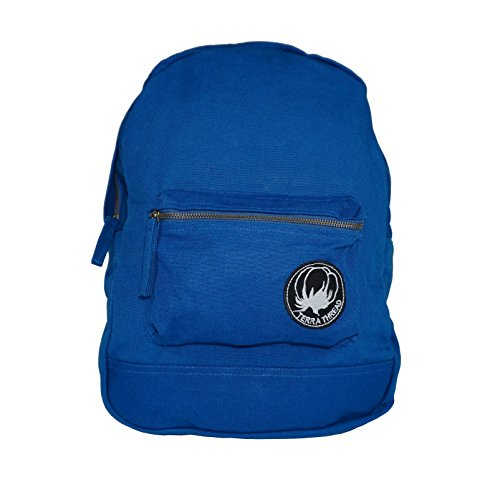 Organic Cotton Canvas Backpack. Ethically sourced backpack for men women.