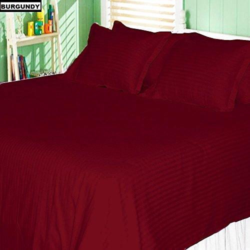 KM Linen 3 PC Duvet Cover Bedding Set { Queen Size } - 1 Pie