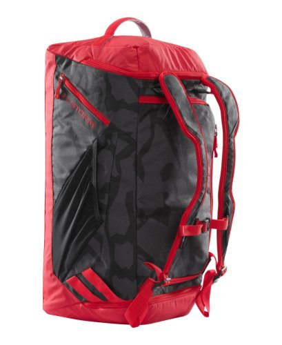 Under Armour Storm Contain Backpack Duffle II, Black/Risk Red, One Size [並行輸入品] B07F4G677W