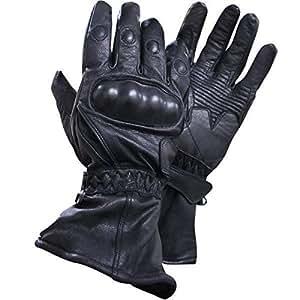 Amazon.com: Xelement XG815 Men's Black Leather Motorcycle