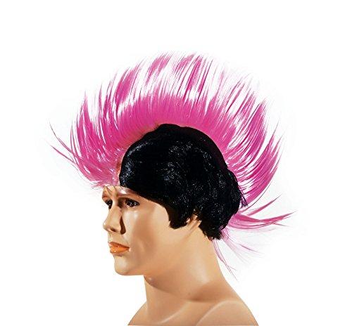 Star Power Punk Ultra Tall Rockstar Mohawk Wig,