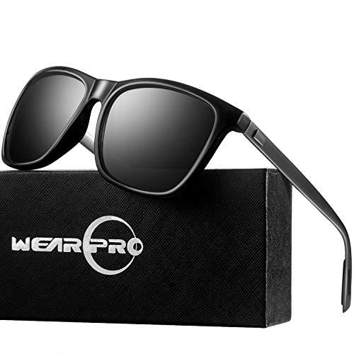 Sunglasses for Men-wearpro Polarized Vintage Men`s Sun Glasses WP1003 ()