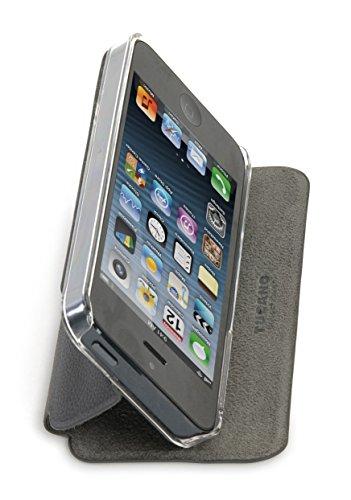 Tucano Libretto IPH5LI Case für Apple iPhone 5 schwarz