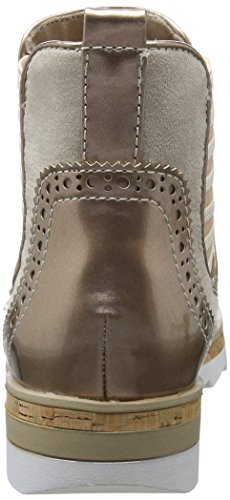 Marco Tozzi 2-2-25403-28 596, Botas Chelsea Mujer Marrón (Rose Comb 596)