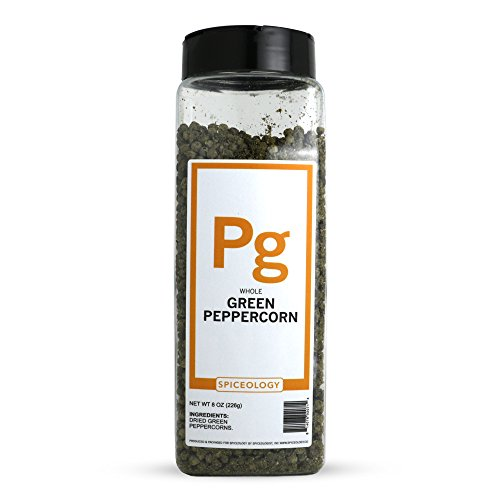 Spiceology Premium Spices - Whole Green Peppercorns, 8 oz by Spiceologist
