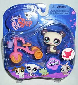 Littlest Pet Shop Series 3 Collectible Figure Panda