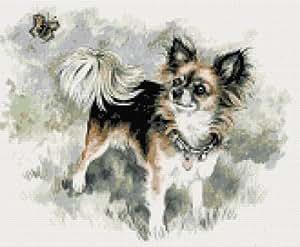 Chihuahua Counted Cross Stitch Kit