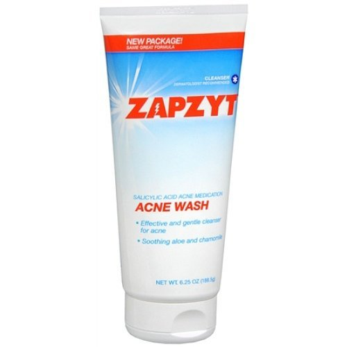 ZAPZYT Acne Wash with Soothing Aloe &