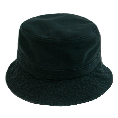 (Decky Cotton Bucket Hat - Black Small /)